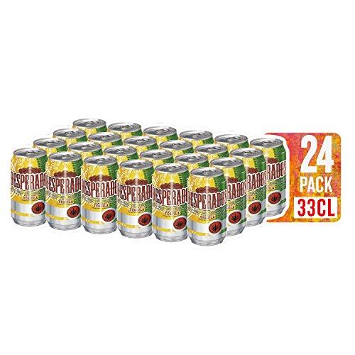 Cerveza Desperados Pack 24 latas 33 cl