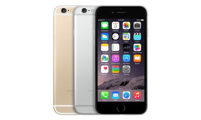 iPhone 6 64GB Dorado o Plateado - Reacondicionado (Descuentito más que chollo)*