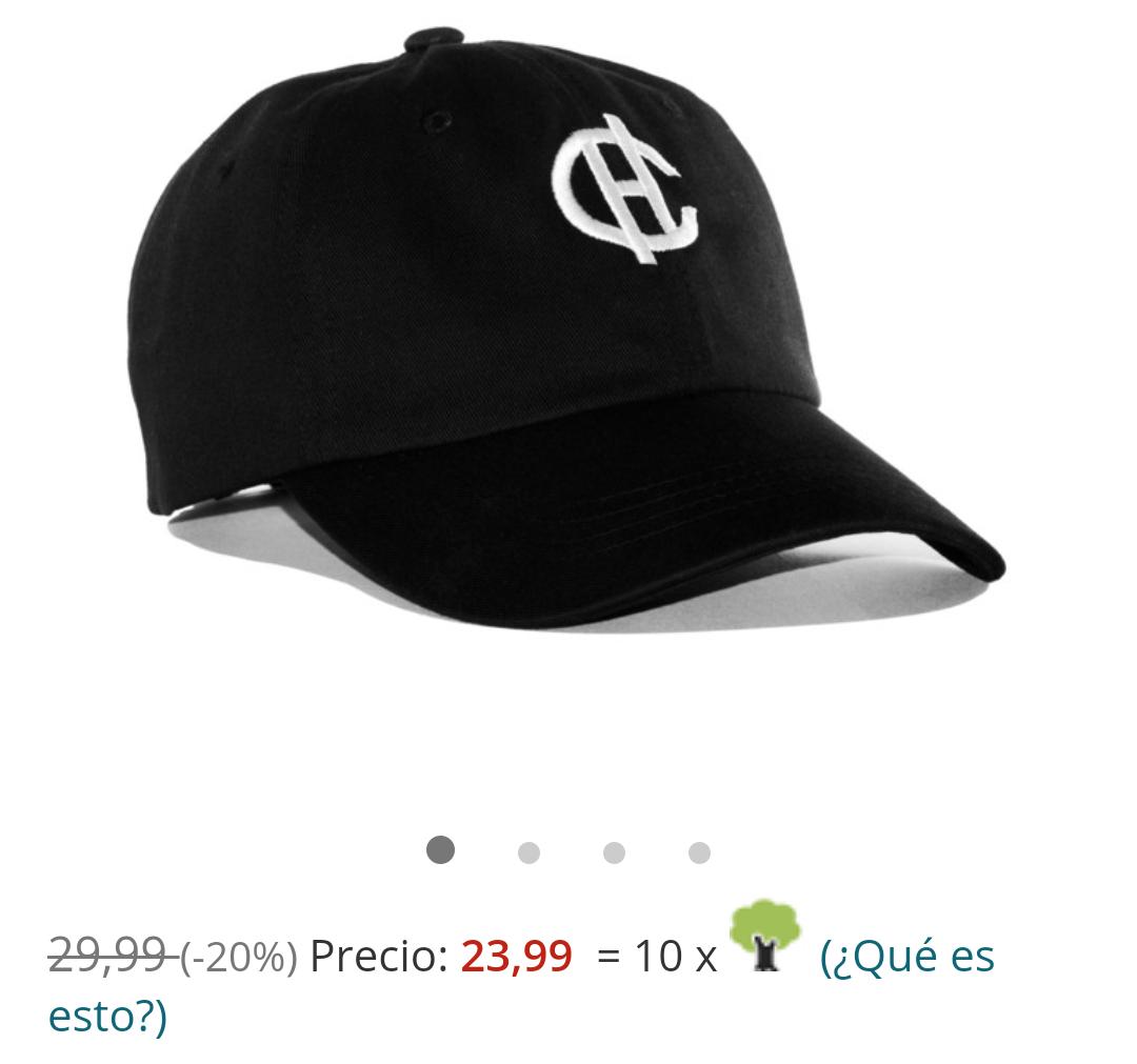 20% de descuento en gorra Caphunters
