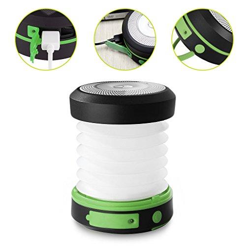 Mini lampara de camping