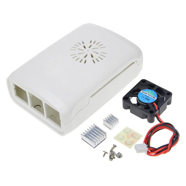 Chollo carcasa para Raspberry pi 3 + ventilador + disipadores de calor