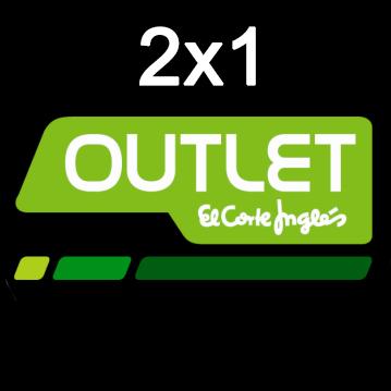 2x1 en todos los Outlets de El Corte Inglés. - chollometro.com fdae8ed0164d3