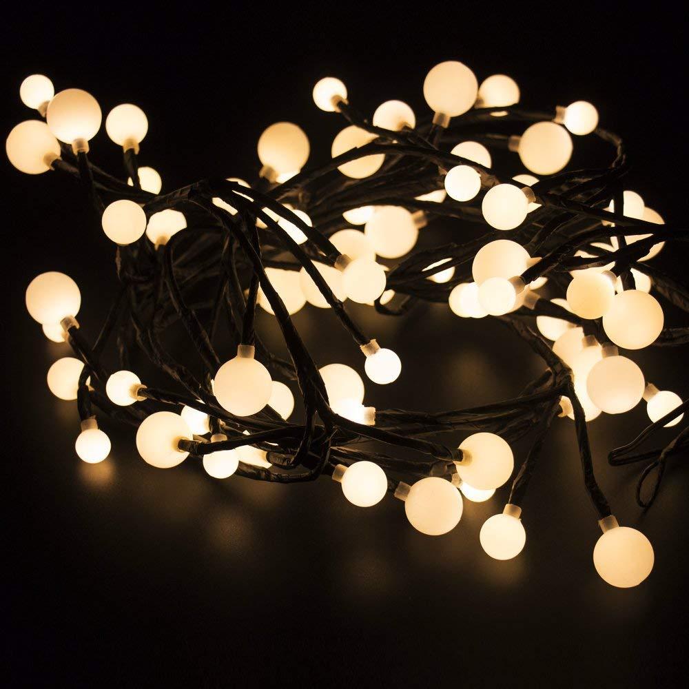 2.5 metros de luces de Navidad