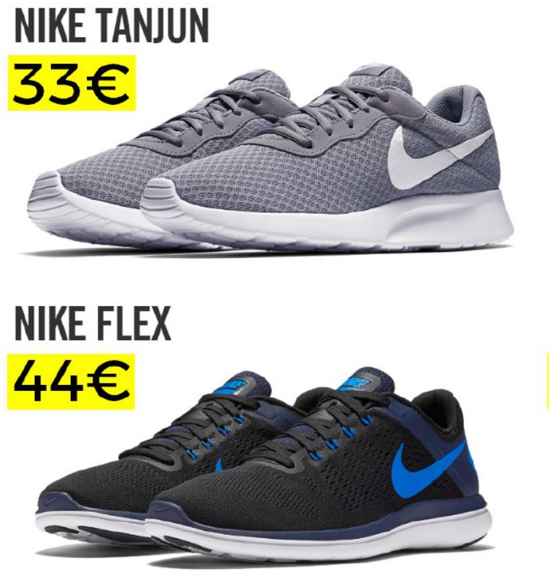 Nike Rebajas 50% más 25% extra con código