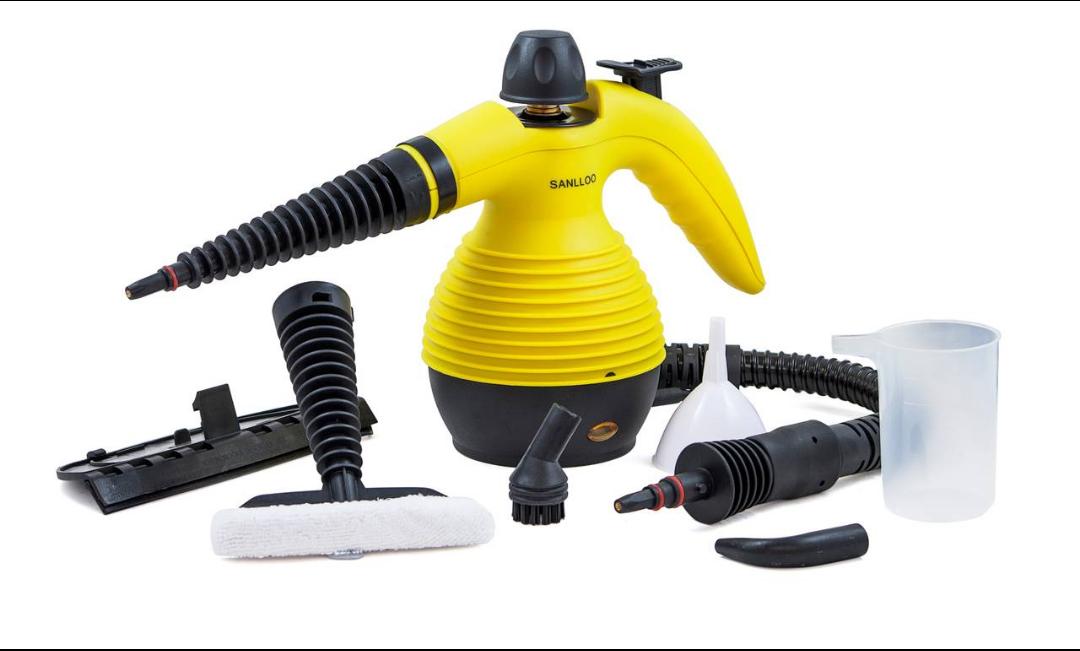 Limpiador de vapor multifuncional.
