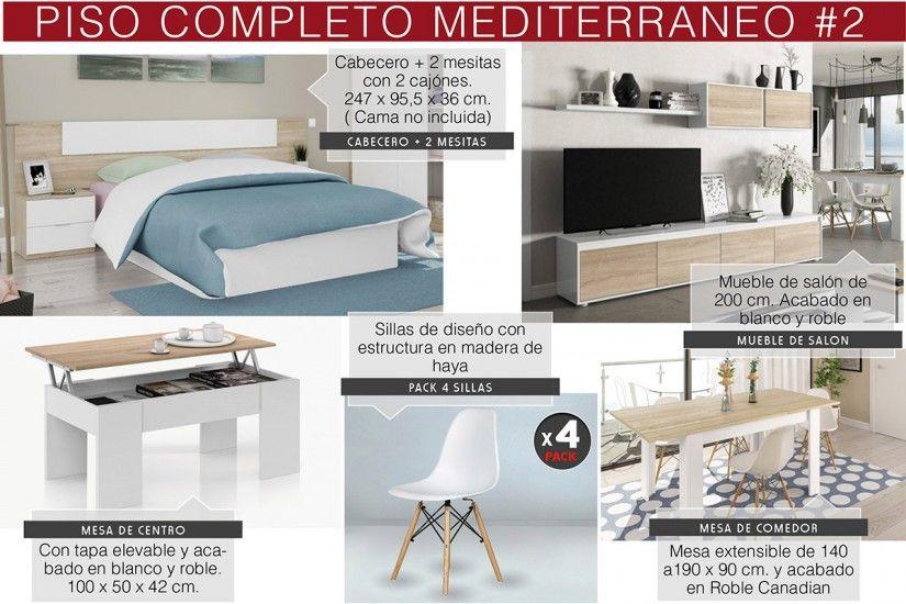 Muebles piso completo