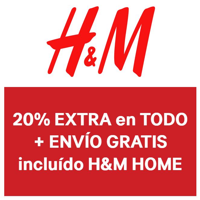 20% EXTRA en H&M + Envío GRATIS
