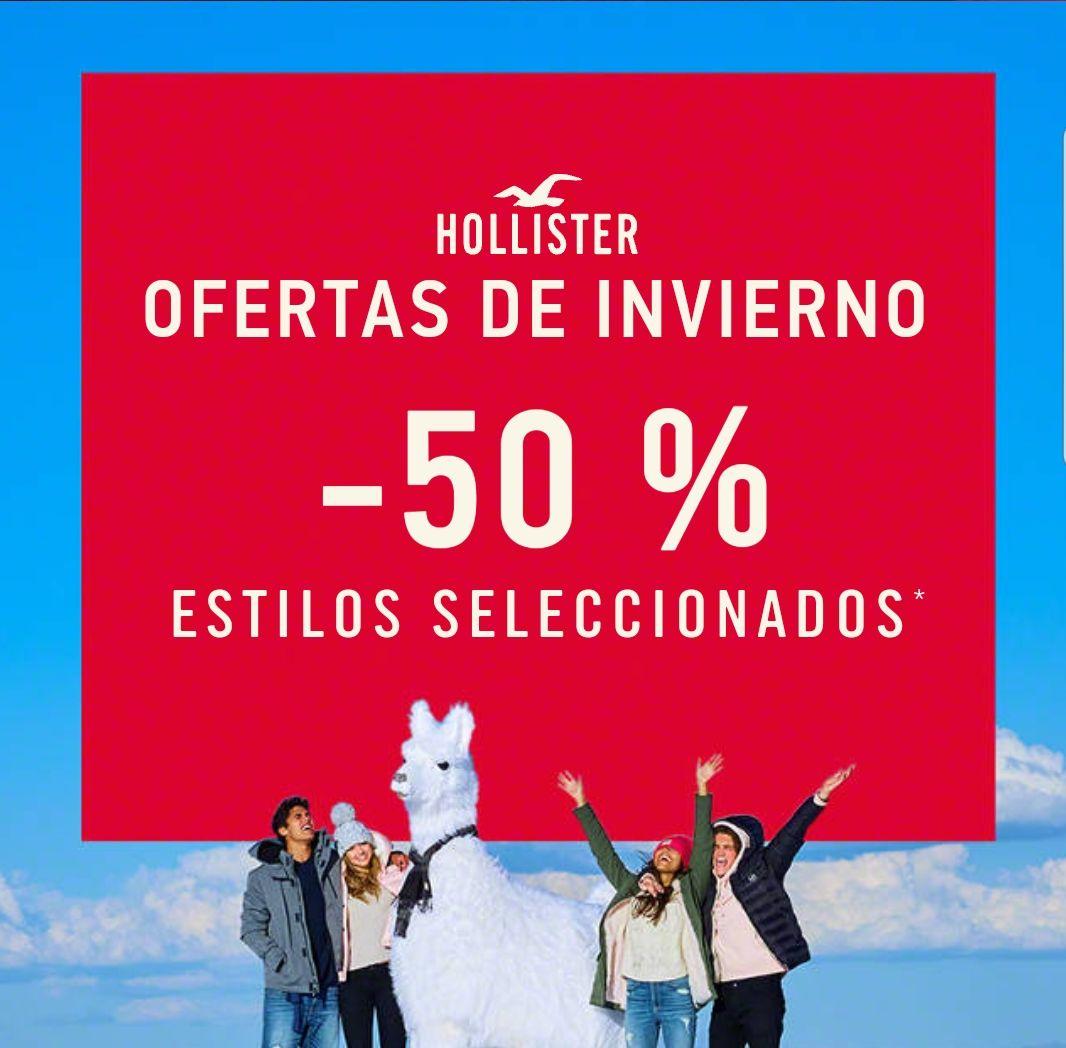 50% de Descuento Hollister - Tienda Online