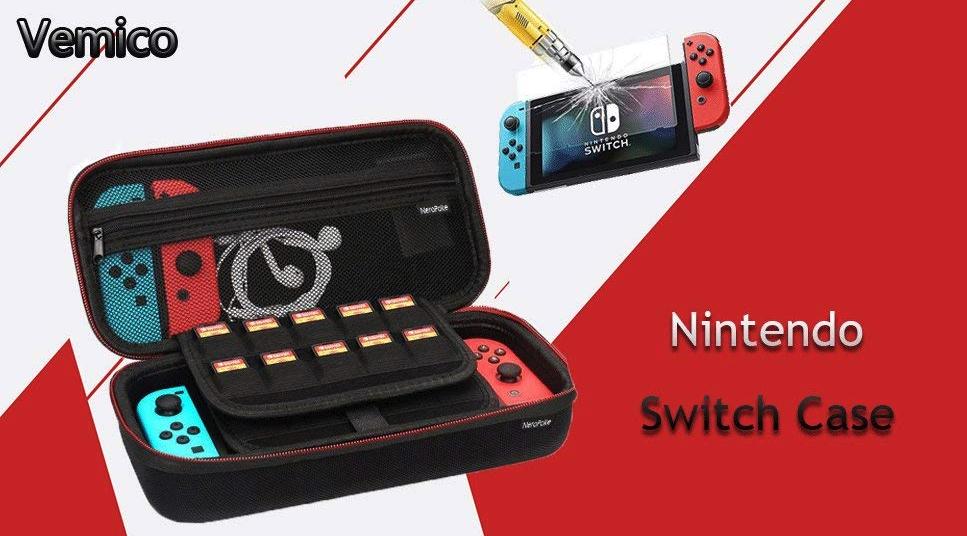Funda + accesorios para Nintendo Switch