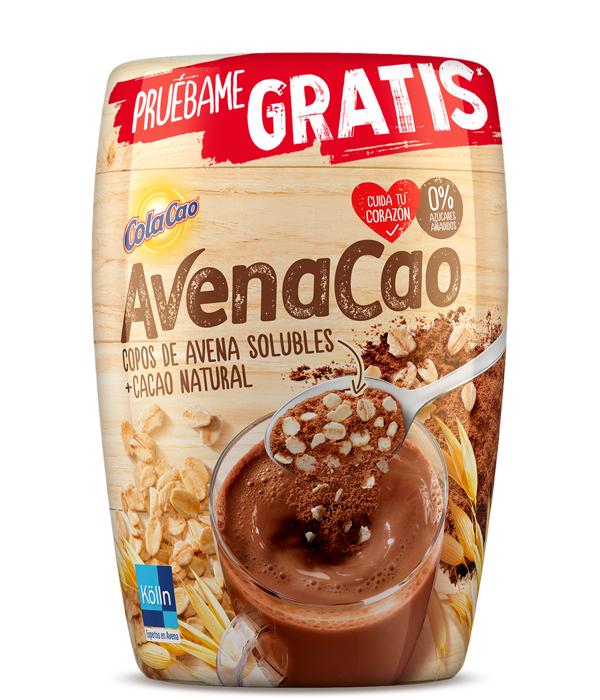 Prueba GRATIS Cola Cao AvenaCao [Reembolso]