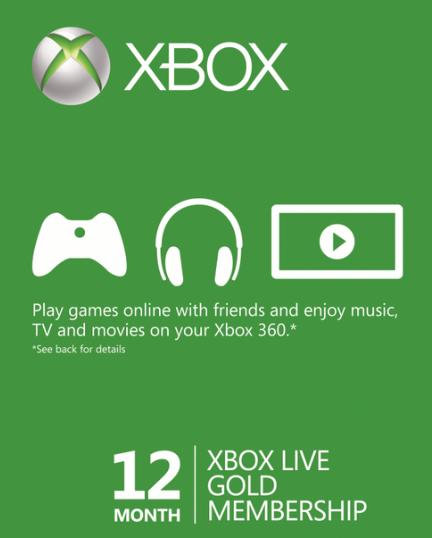 Xbox Live Gold por 12 meses (BRASIL / VPN)