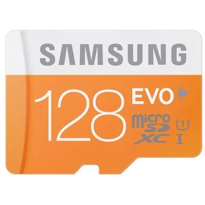 Samsung EVO Categoría 10 Micro SDXC 128 GB