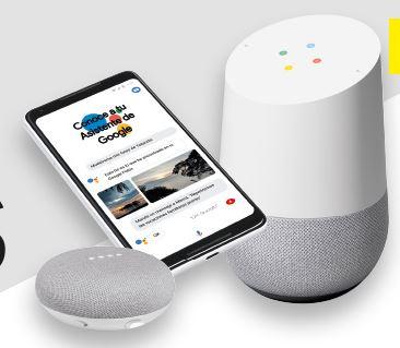 Google Home de regalo al contrar un Móvil o Pack Fibra