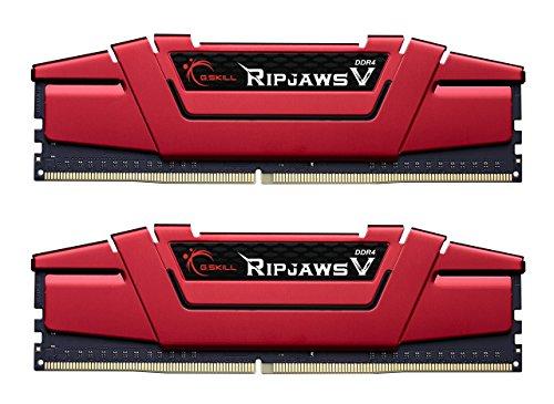 G.Skill Ripjaws V Red DDR4 2400 PC4-19200 16GB 2x8GB CL15