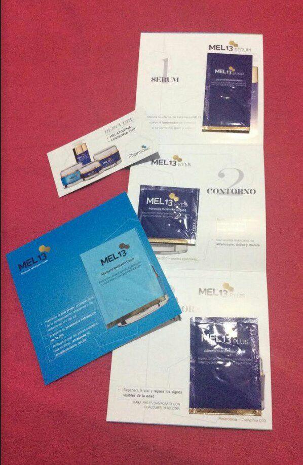 Muestra GRATIS crema Q10 PharmaMel