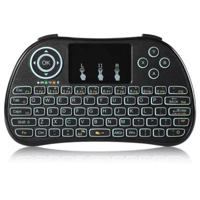 TZ P9 Wireless Mini Keyboard   -  BLACK