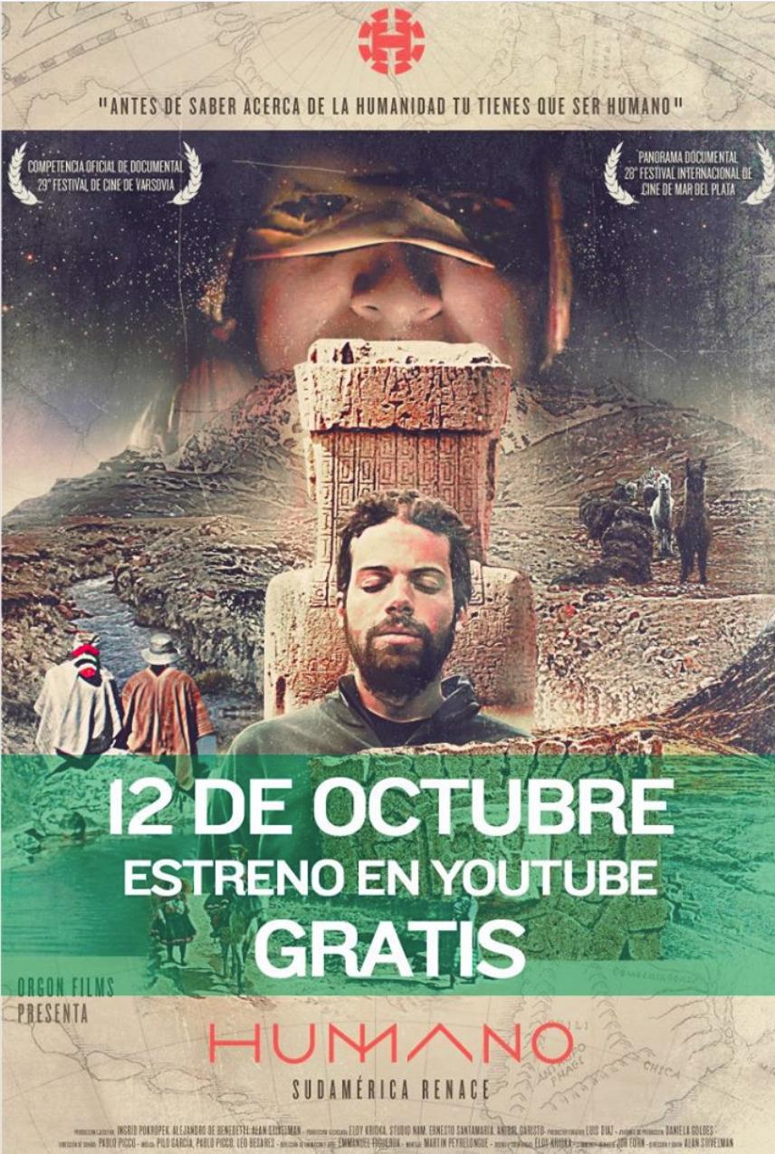 """Película """"HUMANO"""" (GRATIS)"""