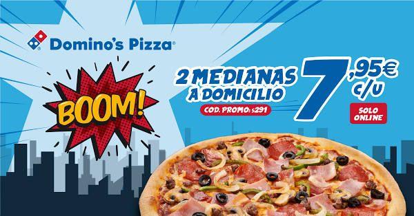 Dos medianas por 7,95€ cada una (Solo online)