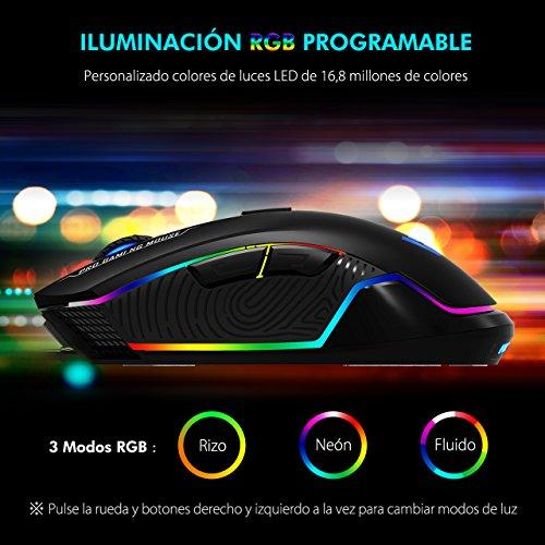 Victsing Ratón Gaming RGB