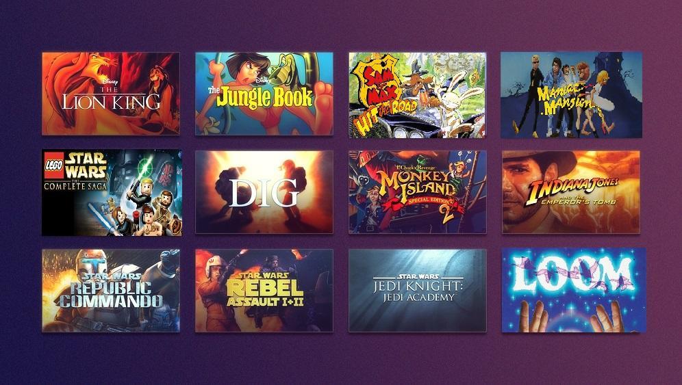Disney Week Sale (Indiana Jones, Star Wars, Monkey Island, Lego, Lucas Arts Games y muchos más)