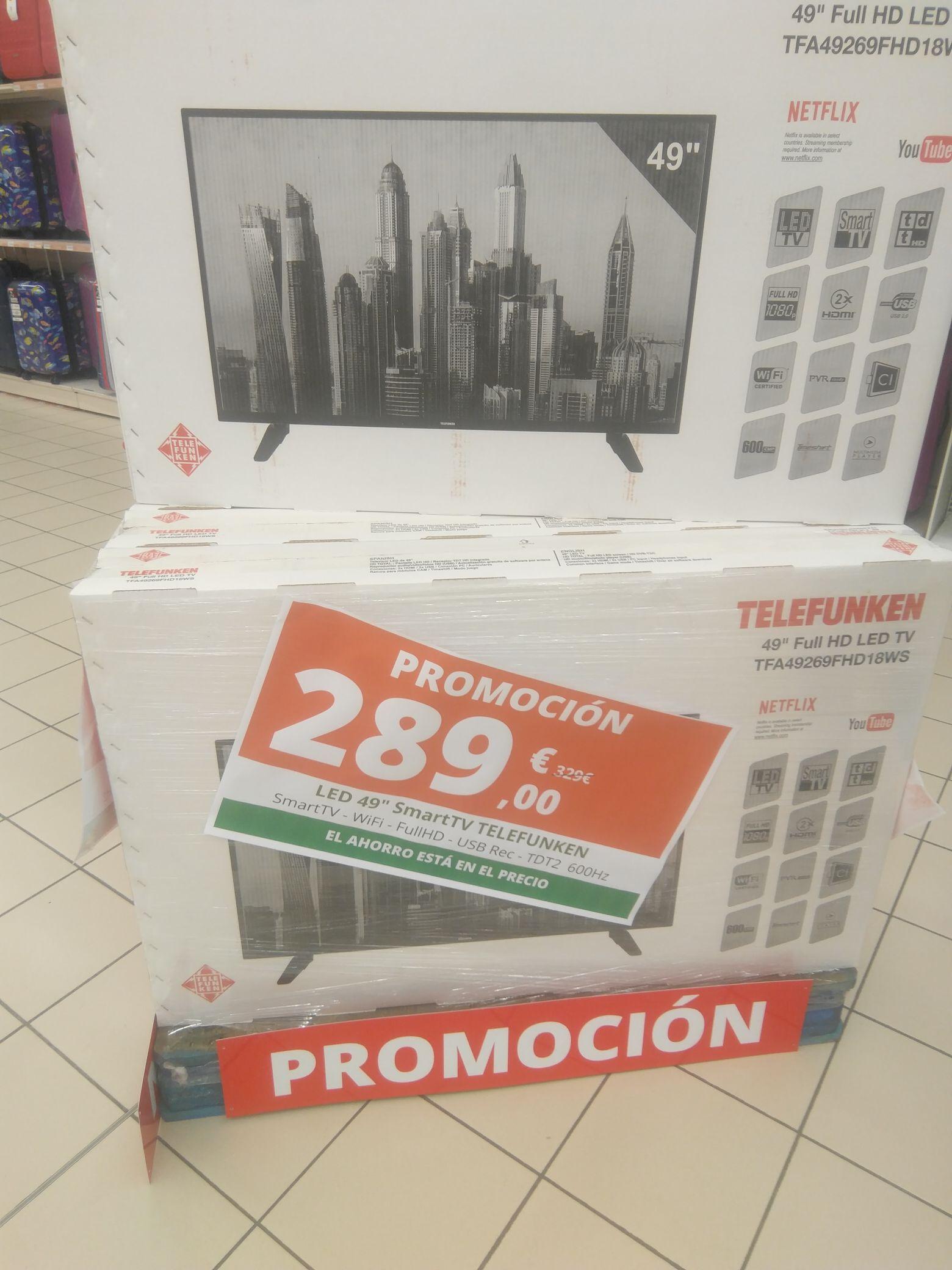 TV a buen precio en Alcampo