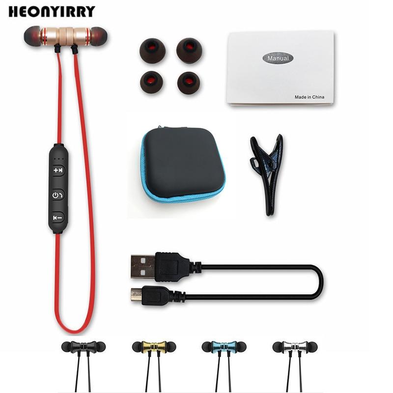 Auriculares Bluetooth con accesorios