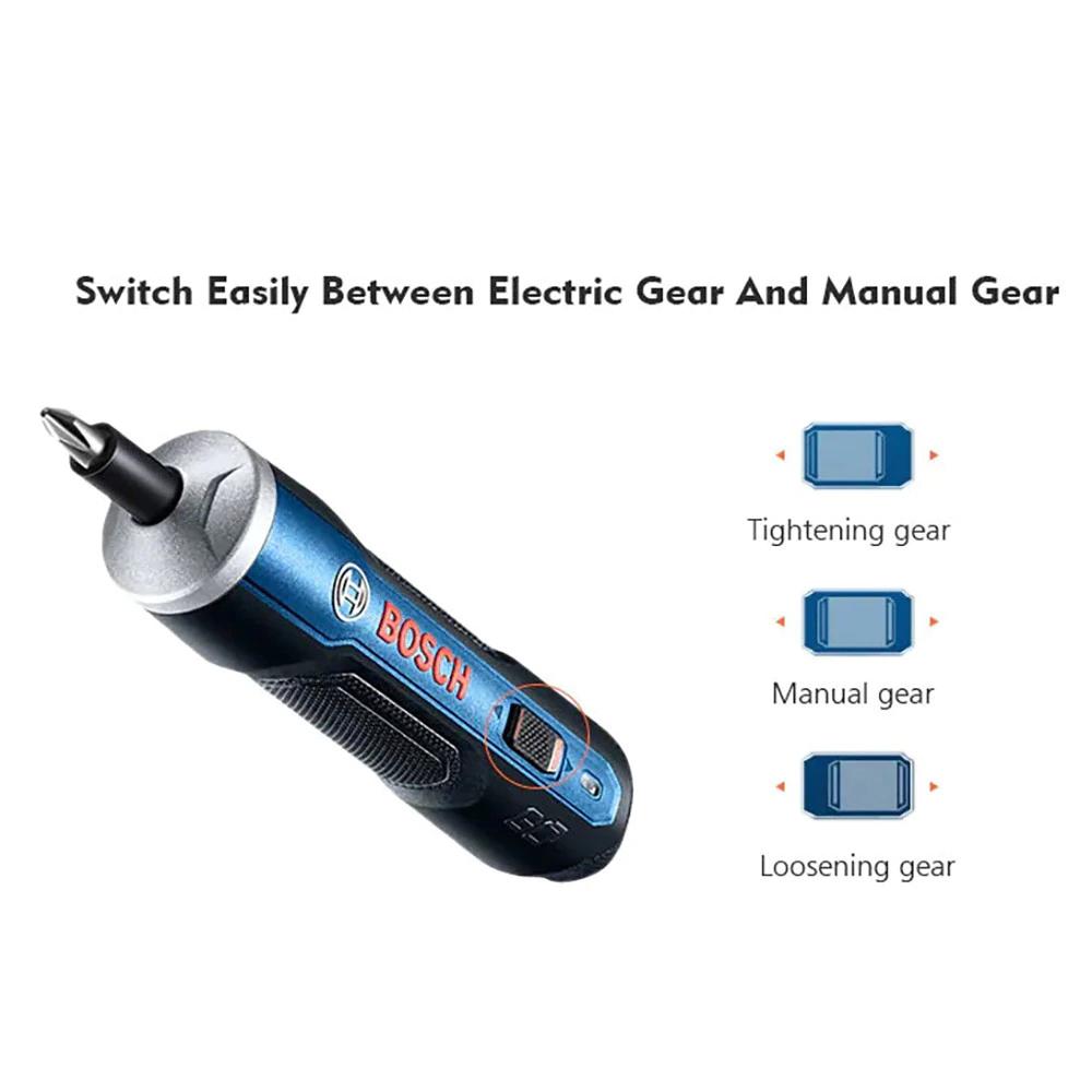 BOSCH GO Mini destornillador eléctrico 3,6 V
