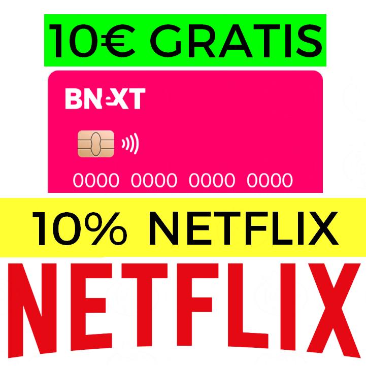 Netflix solo 2€/mes + 10% EXTRA + 10€ GRATIS