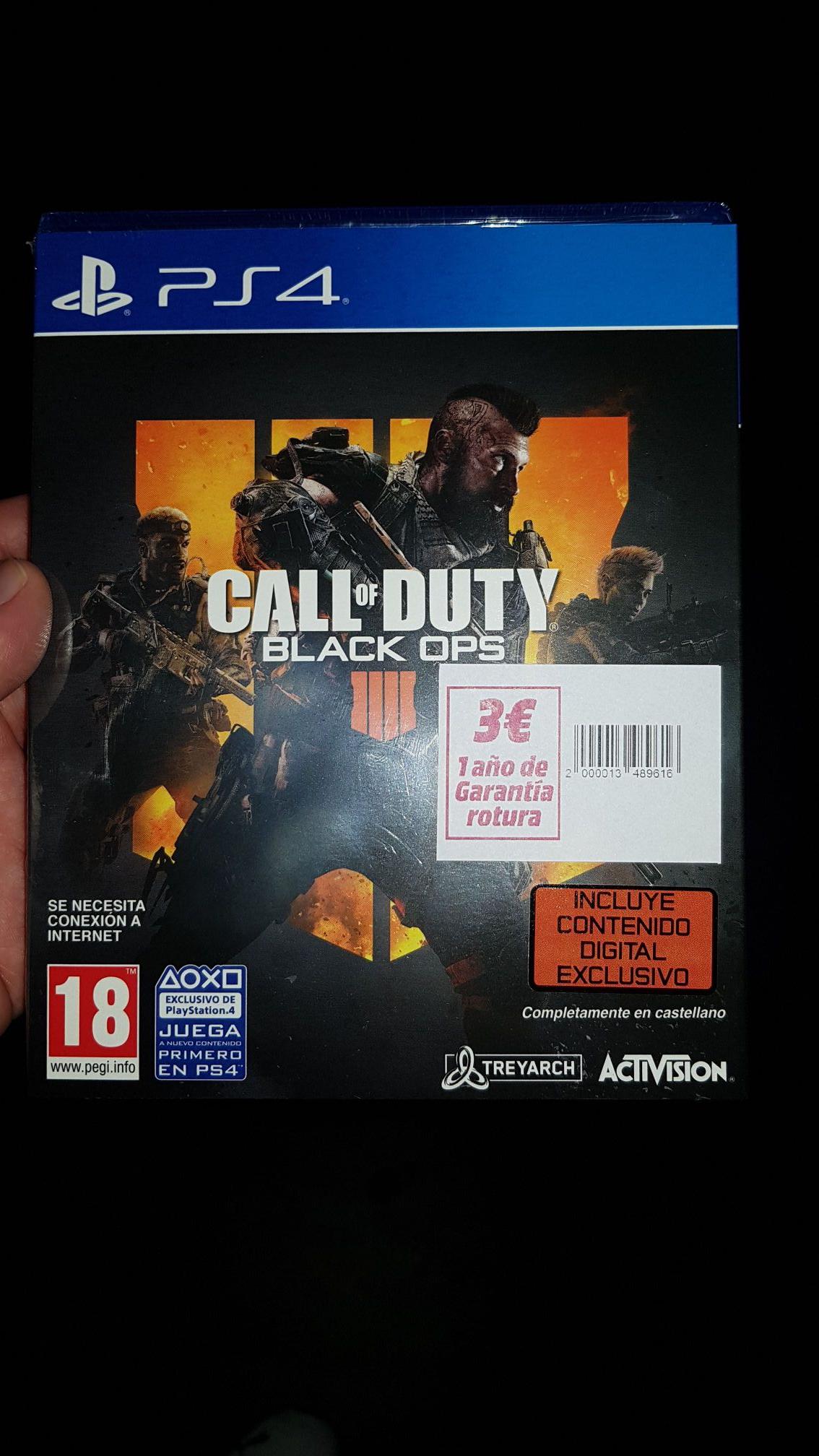 Call of Duty Black Ops para PS4