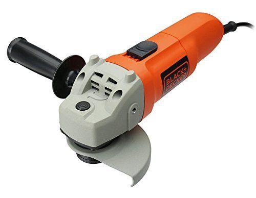 Black and Decker KG115-QS - Amoladora, 115 mm, 750 W, 230 V, color gris y naranja