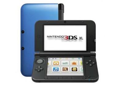 Consola Nintendo 3DS XL en negro+azul o en blanco