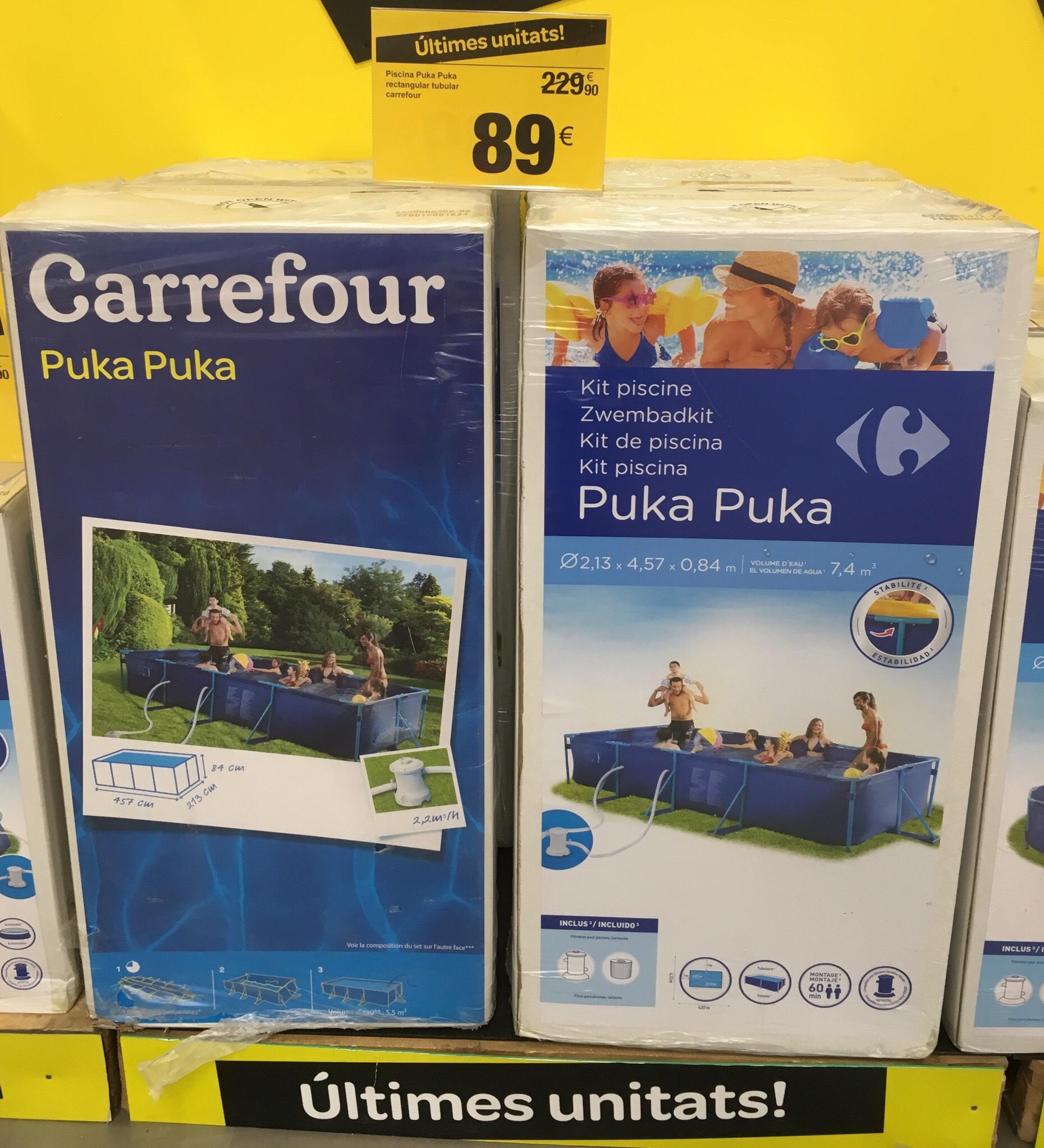 Piscina Puka Puka Carrefour