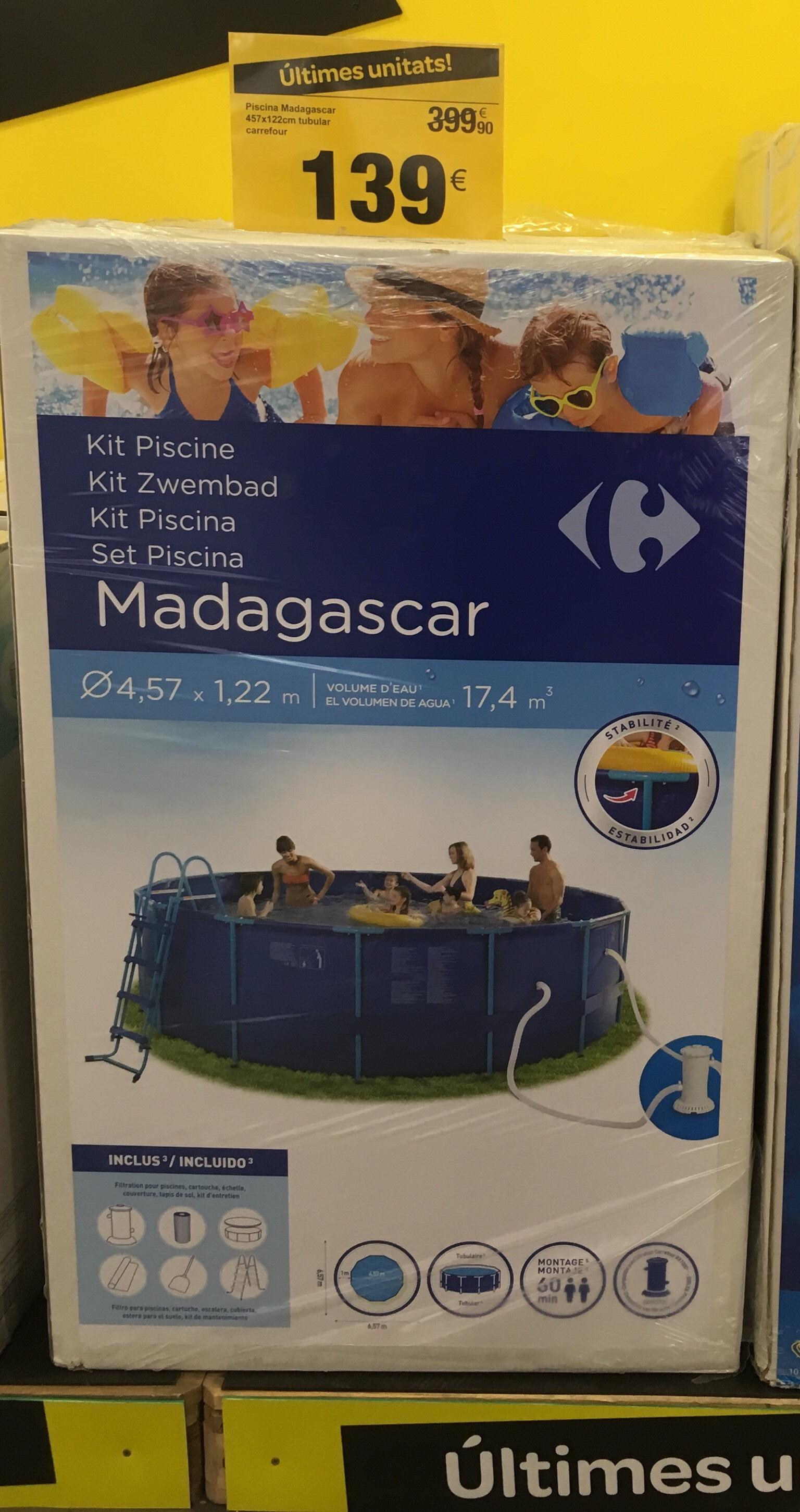 Piscina Madagascar Carrefour
