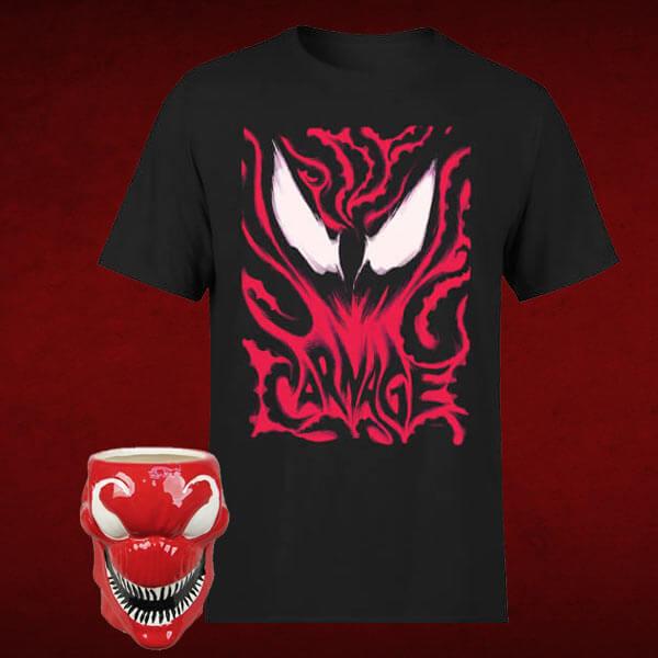 Pack Marvel Matanza: Camiseta + Taza