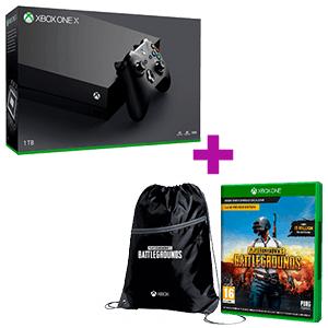 Xbox One X + Playerunknown's Battlegrounds + Mochila Pubg