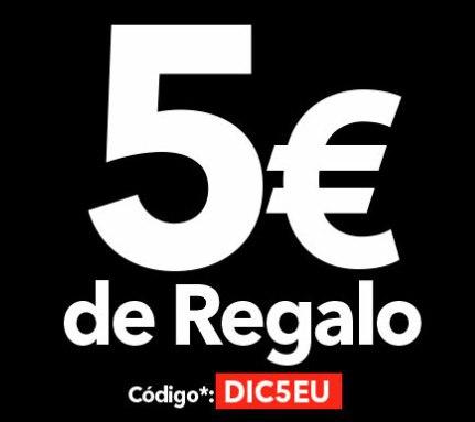 5€ en clarel.es gastando 35€
