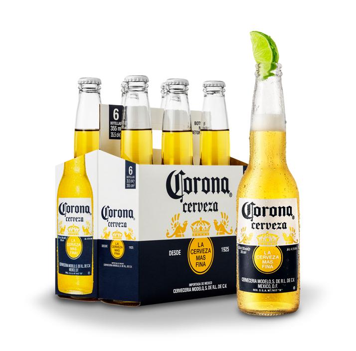 Pack 6 Botellines Cerveza Corona GRATIS [Reembolso] (Leer descripción)