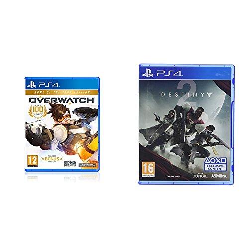 Overwatch Edición GOTY + Destiny 2 Salute Emote PS4 y XBOX ONE Amazon UK