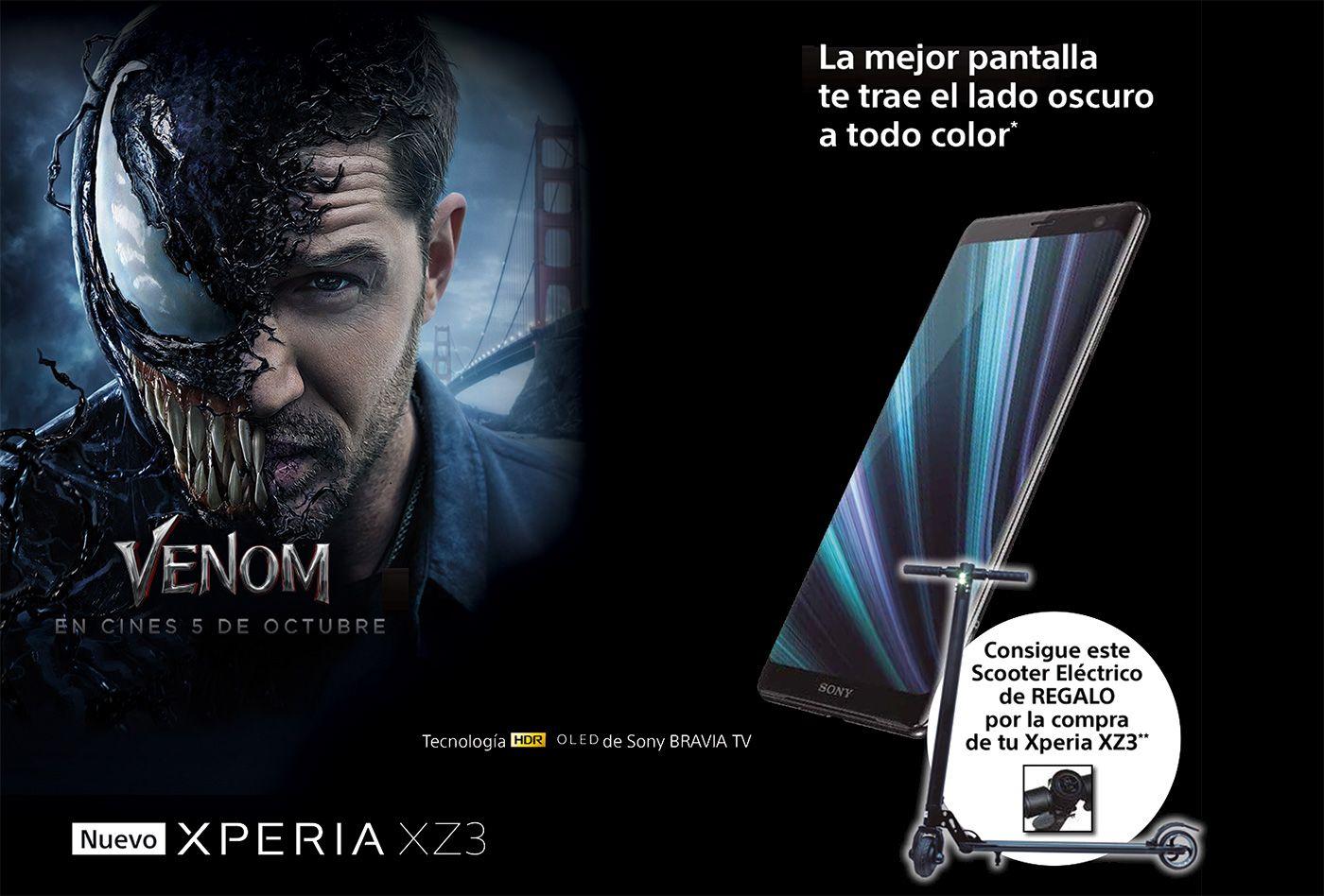 Sony Xperia XZ3 + Patinete
