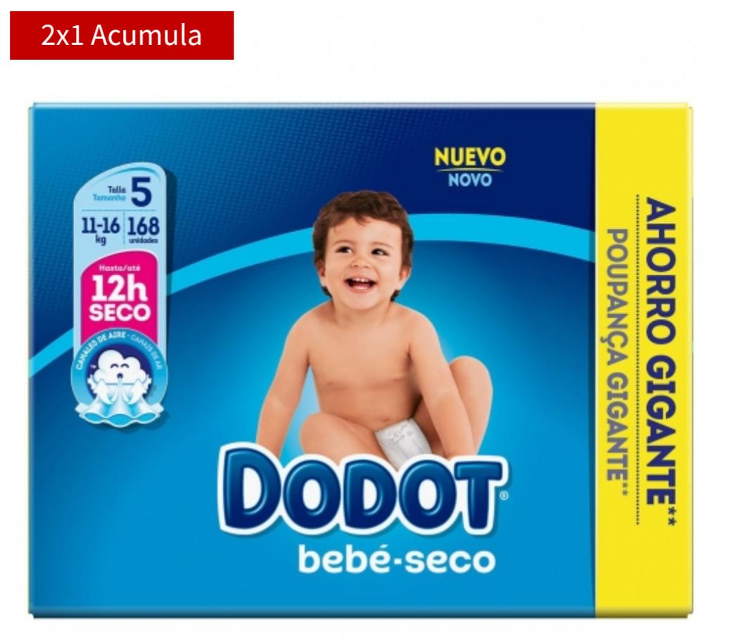 2x1 Dodot (Distintos modelos y packs)