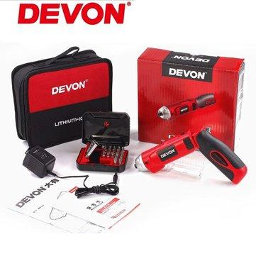 DEVON® 5607-Li-4 de doble uso de carga destornillador eléctrico