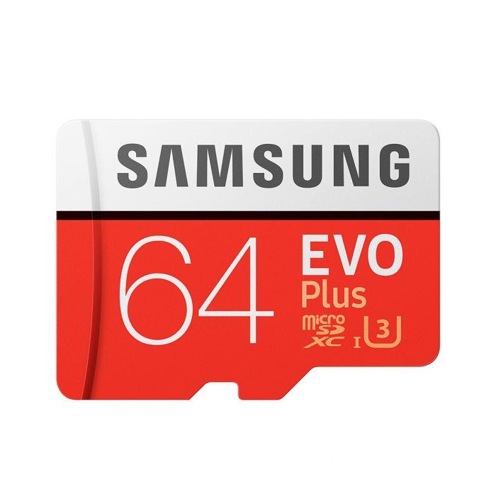 Micro SD Samsung Evo Plus 64GB UHS-3 a solo 9.69€