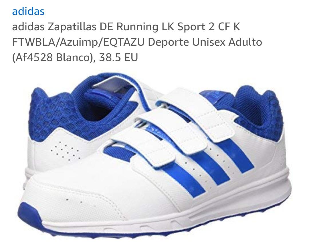 Zapatillas Adidas Running Hombre(38.5)