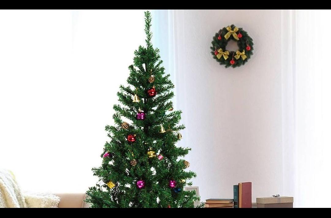 Arbol de navidad + 48 adornos