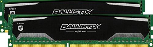 Ballistix Sport 16GB Kit (8GBx2) DDR3 1600 MT/s