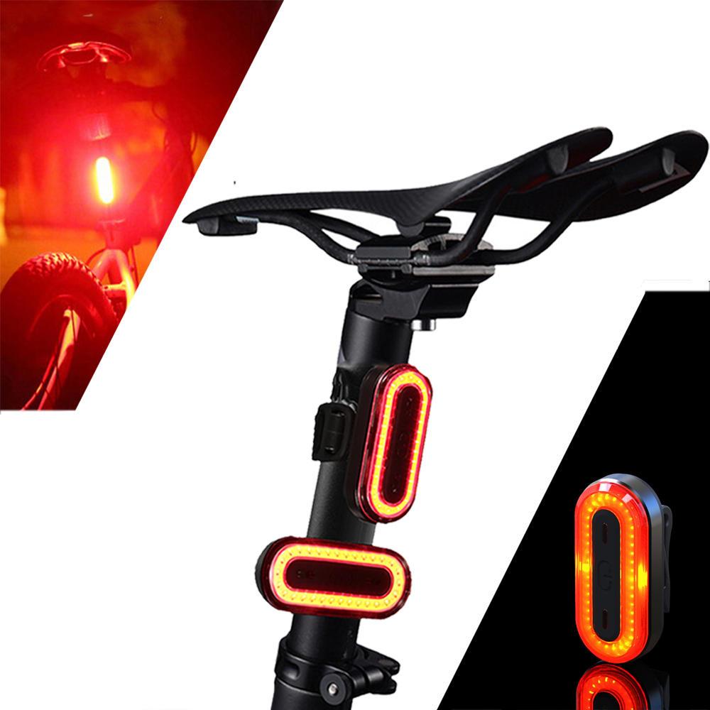 Luz Trasera de Bicicleta 100 LM  IPX8 Carga USB