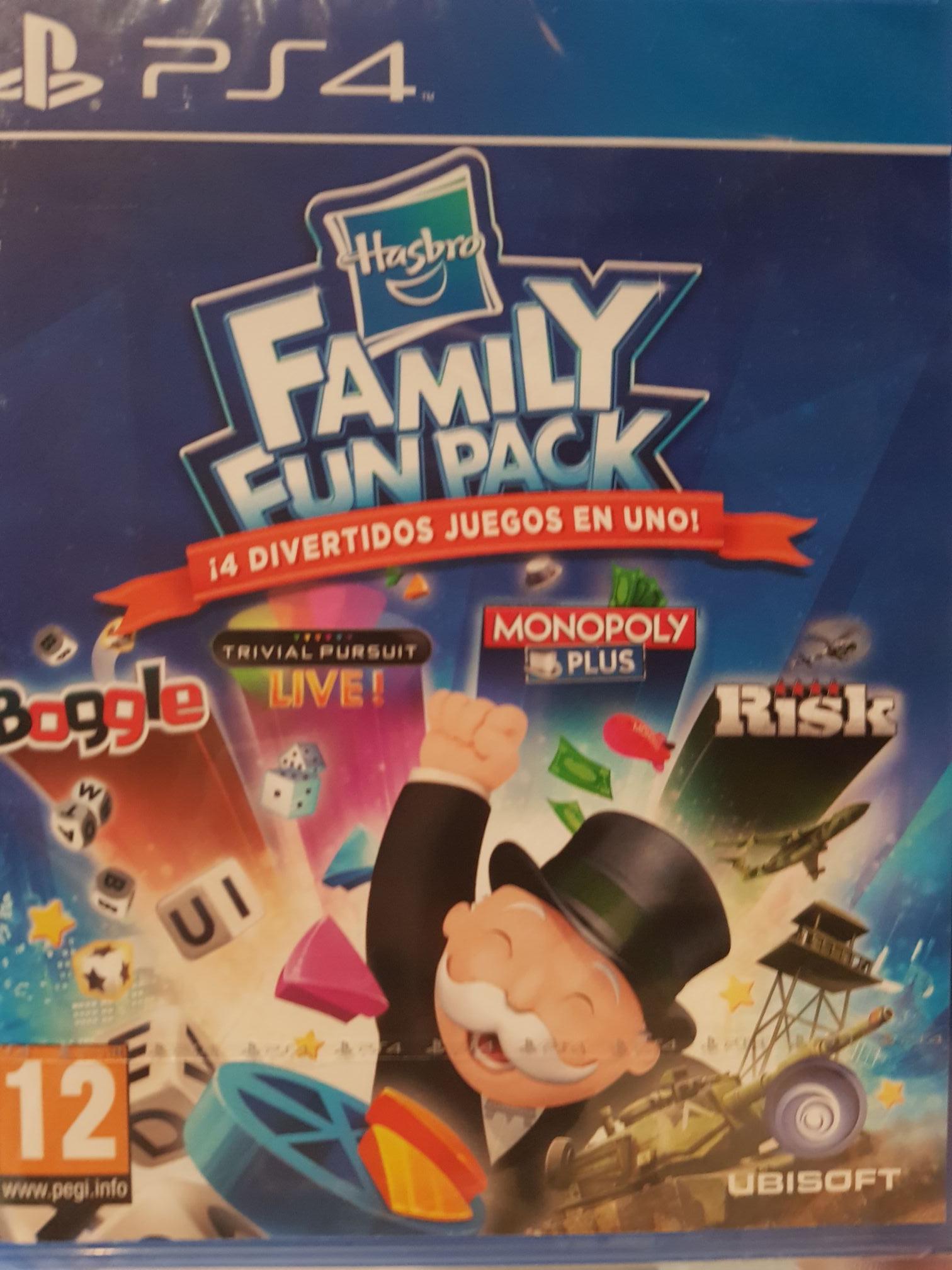 Juego hasbro family fun pack para ps4
