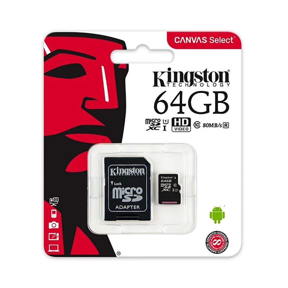 (Reserva 11/11) Micro SD 64gb Kingston clase 10 UHS-1 (Desde España)