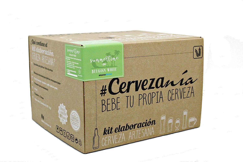 Kit de elaboración de cerveza artesana Summertime Belgian White   Exclusivo Amazon