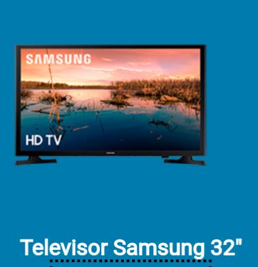 Tv Samsung 32'' gratis al domiciliar tu nomina